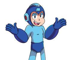 Megaman by popfizzfan7
