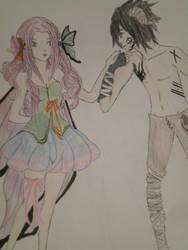 Fair Princess+the Dark Prince by xnomxnomxrawrrz
