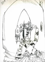 Robot 1 by Simeontoast