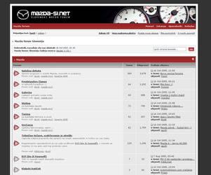 IPB 2.1 skin - Mazda-si.net by ToniX