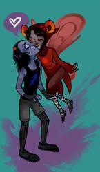 Eww gross dead kissies by OhThatNK