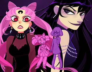 Evil Selves by OhThatNK
