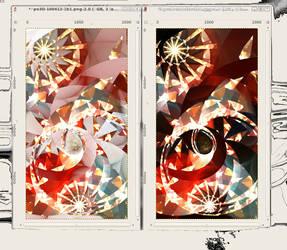 Luna Park: B vs W by XSindy
