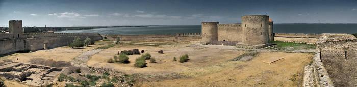 Fortress in Akkerman by wojtar
