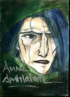 Amael Amhlaidh close up by LiaVilore