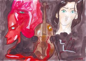 The Violin by LiaVilore