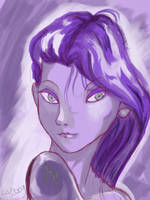 Purple Witch by LiaVilore