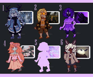 Mystery Aesthetic Adopts (100 Points 1/6 OPEN) by LadyAnnMajora