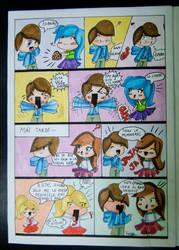 page 5 school work - comic by VaneNeko-chan