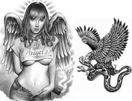 aztec eagle by AztecKnight69