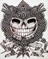 Aztec god by AztecKnight69