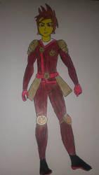 Ninjago Kai New Suit by SongOfHopeOriginal