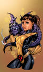 Kitty Pryde And Lockheed by roncolors