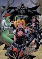 Batman Arkham Knight by roncolors