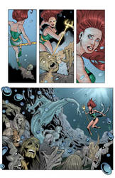 Bombshells Mera by roncolors