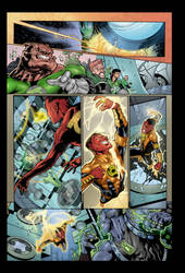 Green Lantern by roncolors