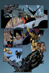 Batgirl Page by roncolors