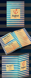 Sea Food Menu Front by x-D-S-x