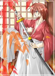 last try on submitting kenshin by klassikalfreak