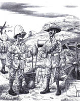 Boer War Lads by AngusBurgers