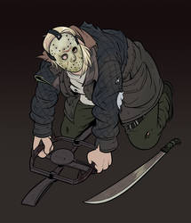 Hobo Mountain Man AKA Remake Jason by AngusBurgers