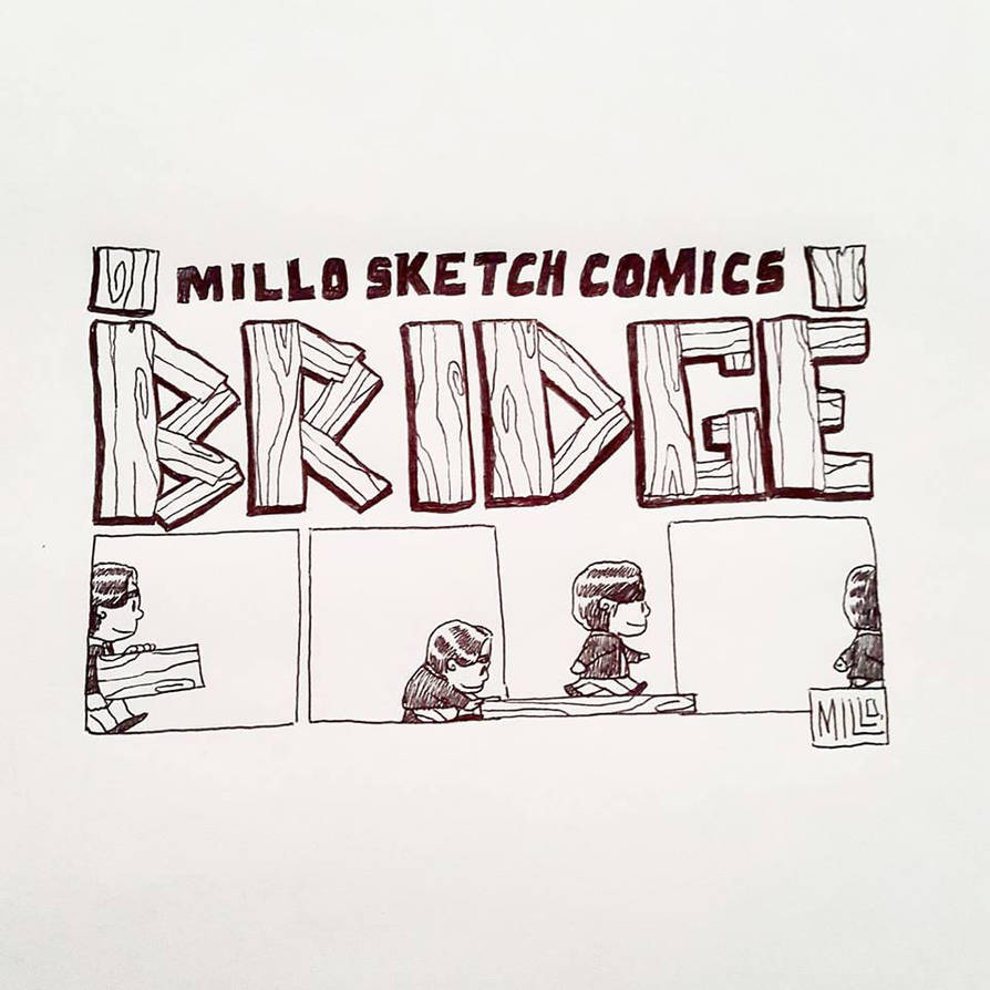 Keep walking by MilloSketch