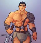 Warrior by blueglueclue