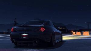 Honda S-2000 in the night  by JoshuaCordova