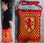 Gryffindor Bookbag by Creativity-Squared