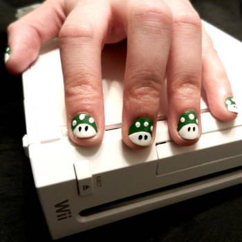 Mario 1Ups by TheSuperAnn