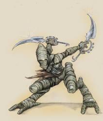 Ninja Templar Colour by antisleeper