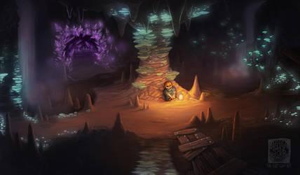 Cave by PrettyFlyShyGuy