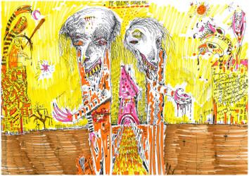 Mr and mrs eel by SittingBuddha
