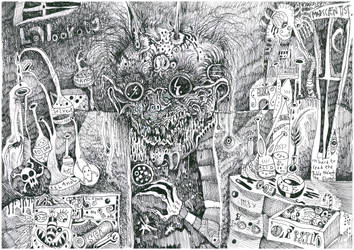 Leper scientist by SittingBuddha