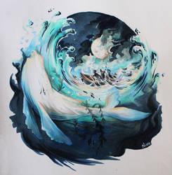 White Whale by MAliceMiisha
