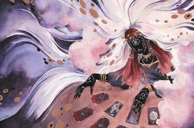 Tarot Reader by MAliceMiisha