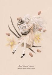 Tea Series - Almond Scented Suicide by MAliceMiisha
