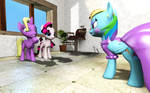 Rainbow dash's Make Over by MLPStevePVB