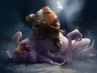 Olaf the Meat Tenderiser by Rukkits