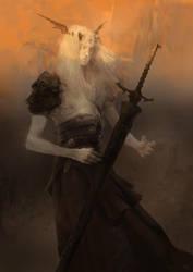 Elric of Melnibone by Rukkits