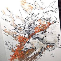 Inktober #7 by Rukkits