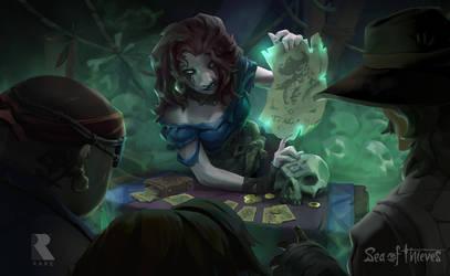 Order Of Souls -Sea Of Thieves Key Art by Rukkits
