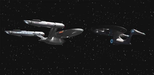 Pikes Enterprise Meet Kirks kelvinEnterprise by kingsirluke
