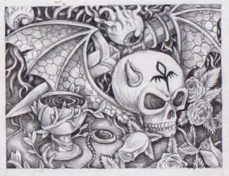 skully by DarkZoneRomana