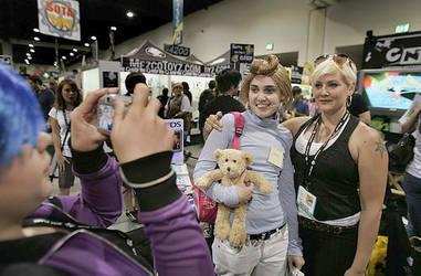 L.A. times get me at Comic Con by PiranhaMae