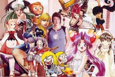 Characters by PiranhaMae
