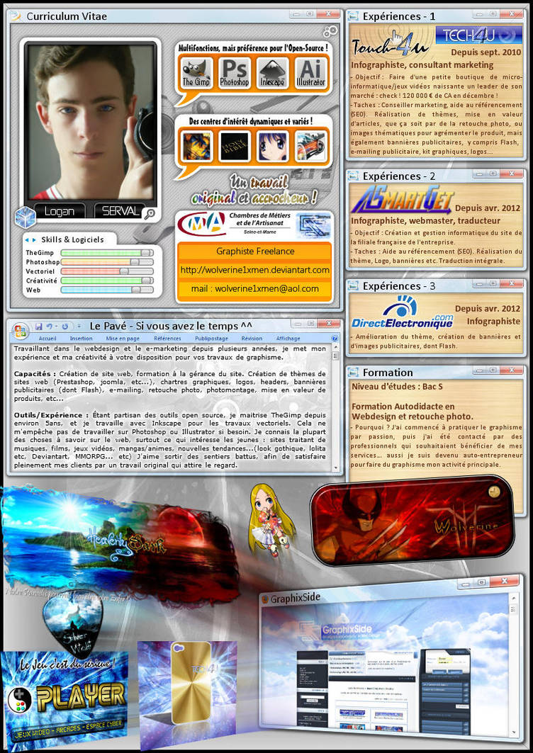 My Original Curriculum Vitae By Wolverine1xmen On Deviantart