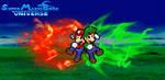 Super Mario Bros. Universe- A Brotherly Battle!!! by SuperShadeMario