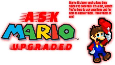 Ask Mario: Upgraded by SuperShadeMario