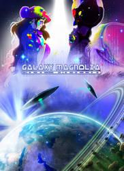 Galaxy Magnolia poster by Axolotl-mafia